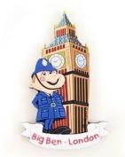 Elgate Big Ben And Policeman Magnets