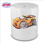 Koolart Image Ceramic Money Box Piggy Bank Lamborghini Gallardo #2375