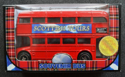 Large Diecast Double Decker Red Routemaster Shaped Bank Money Box Piggy Bank Ornament Model