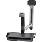 StyleView Sit-Stand Combo System with Worksurface