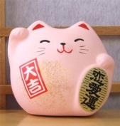 Maneki Neko Feng Shui Lucky pink cat for love and happiness