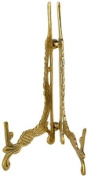 12cm SOLID BRASS PLATE STAND FRO PHOTOS PICTURES