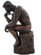 THE THINKER Classic Rodin Bronze Art Sculpture after Auguste Rodin NEW