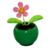 Solar Powered Dancing Flower - Green Base
