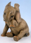 'Missing You' Decorative African Elephant Ornament