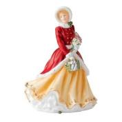 Royal Doulton WINTERS DREAM Christmas Day Figurine 2012 HN5546