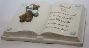 Special Son Teddy Bear Book Graveside Ornament
