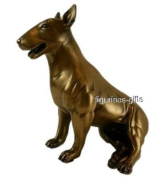 ENGLISH BULL TERRIER Bronze Dog Statue ~ Dog Statues & Sculptures