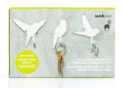 Bird Wall Hooks (by Suck UK)