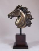 Bronze Sculpture Kehilan Horse Bust By D Geenty