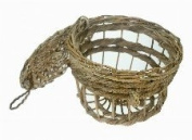 Small Decorative Wicker Lobster Pot 23cm Shabby Chic Nautical Seaside Home Decor