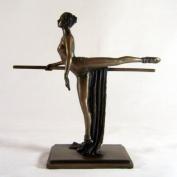 Art Deco Bronze Ballet Figurine Sculpture Ballerina