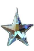 . Hanging Crystal Suncatcher/Rainbow Maker with 40mm Blue AB Star Crystal
