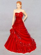 Royal Doulton Pretty Ladies Figurine Gabriella Red HN5560