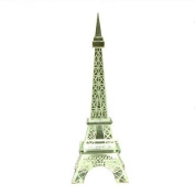 Souvenirs of France - Glass Eiffel Tower Statue - Height 22.5cm - 8.86in