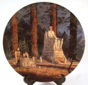Wedgwood Lord of the Rings plate from second series - At the Crossroads - CP1016