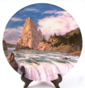 Wedgwood Lord of the Rings plate from second series - Boromir's Funeral - CP1009