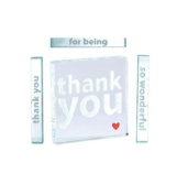 Spaceform Miniature Token Thank You Red Heart 1693