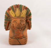 God of Maize Ceramic - Fair trade from Mexico - Indoor or outdoor use L8xH10cm