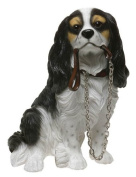 Cavalier King Charles Spaniel Dog Ornament - Walkies Range Of Collectable Dogs By Leonardo