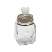 Square Heart Jar