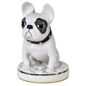 Uta Koloczek Porcelain Dog Figurine - French Bulldog - Chiceria