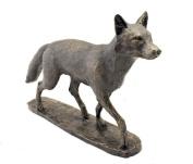 Mr Todd Cold Cast Bronze Fox Sculpture by David Geenty