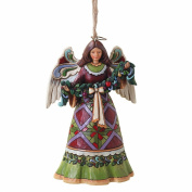 Heartwood Creek Angel with Garland Hanging Ornament