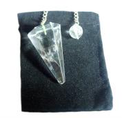 Clear Quartz Dowsing Pendulum