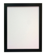 "Frames By Post 25mm wide H7 Black Picture Photo Frame 18""X12"""