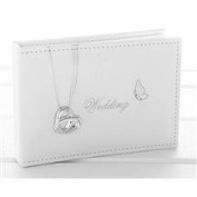 Wedding Rings and Butterfly Photo Album - Wedding Day Gift