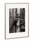 The Photo Album Company PAAF5070B Luxury Satin Aluminium Frame