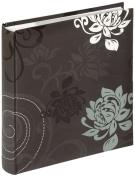walther design ME-201-B Grindy laminated art paper memo slip-in album, for 200 photos 4.5 x 6.1 inch (11.5 x 15.5 cm), black
