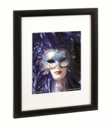 The Photo Album Company PAWFA4B-BLK Black Wood Certificate Frame