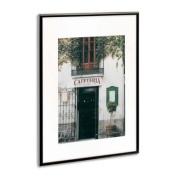 The Photo Album Company PAAFA2B-BLK Luxury Black Satin Aluminium A2 Frame