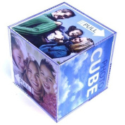 Photo Cube Picture Frame (9cm x 9cm) - Acrylic