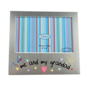 Me & My Grandad Photo / Picture Frame, Fathers' Day Gift, 15cm x 10cm