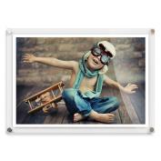 A3 Modern Acrylic Photo Frame - . Wall Frame