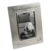 Granddaughter Silver Plated Photo Frame