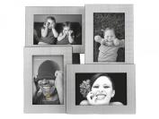 PT Photo Frame Collection, Matt Aluminium, Holds 4 Photos