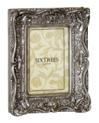 "Shabby Chic Style Very Ornate Silver Photo Frame for 10""x8"" (254x203mm) Pictures"