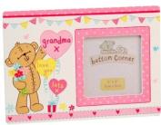 Button Corner - Grandma Photo Frame