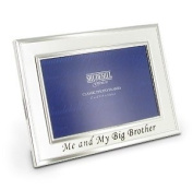 Silver Me and My Big Brother Photo Frame