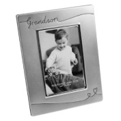 Grandson Silver Plated Photo Frame