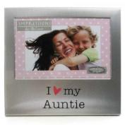 I Love My Auntie 15cm x 10cm Photo Frame