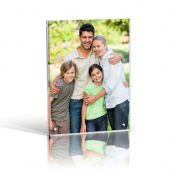 10x8 Magnetic Acrylic Photo Frame - Desktop / Free standing
