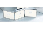 Sixtrees 2-697-46ht 6 x 4(3)-inch Vienna Silver Plated Top and Bottom Hinged Triple Photo Frame