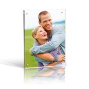 7x5 Magnetic Acrylic Photo Frame - Desktop / Free standing