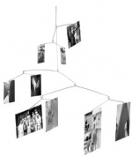 Mobile Clip Photo Hanger - holds 9 pictures