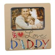 I Love My Daddy Photo Frame, 6 x 4, gift